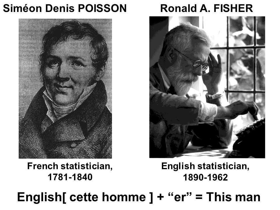 English[ cette homme ] + er = This man